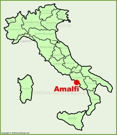 Amalfi Maps Italy Maps Of Amalfi Coast