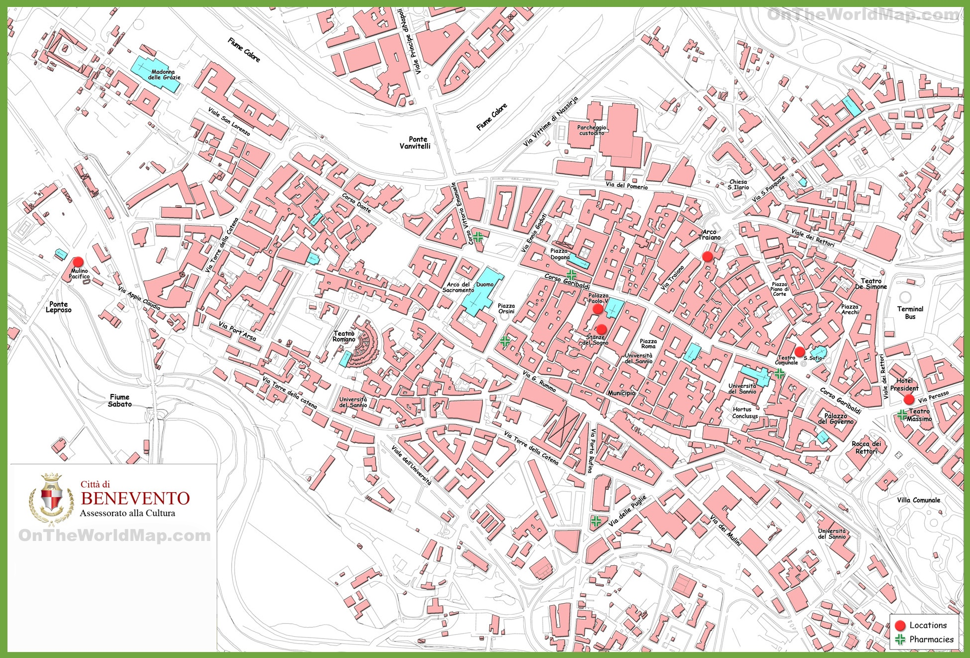naples tourist attractions map » [HD Images] Wallpaper For Downloads ...
