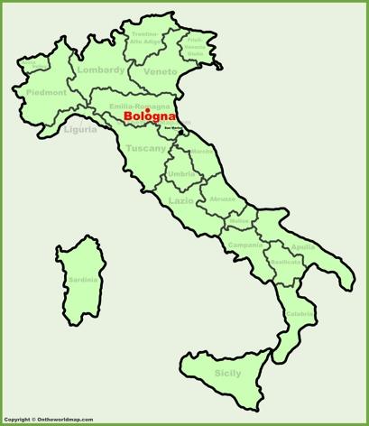 Bologna Italy Map Bologna Maps | Italy | Maps of Bologna