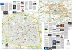 Bologna tourist map