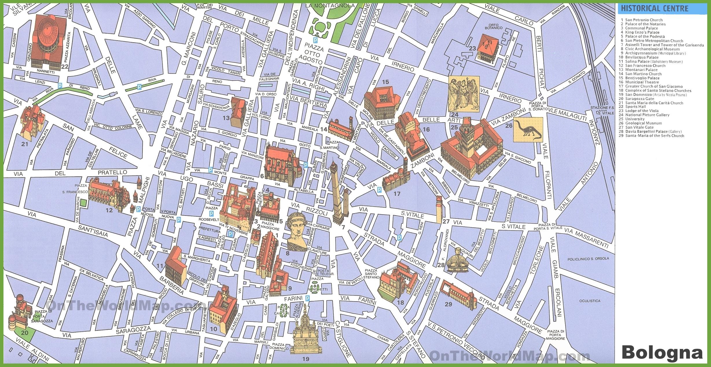 Map Of Mexico City Centro