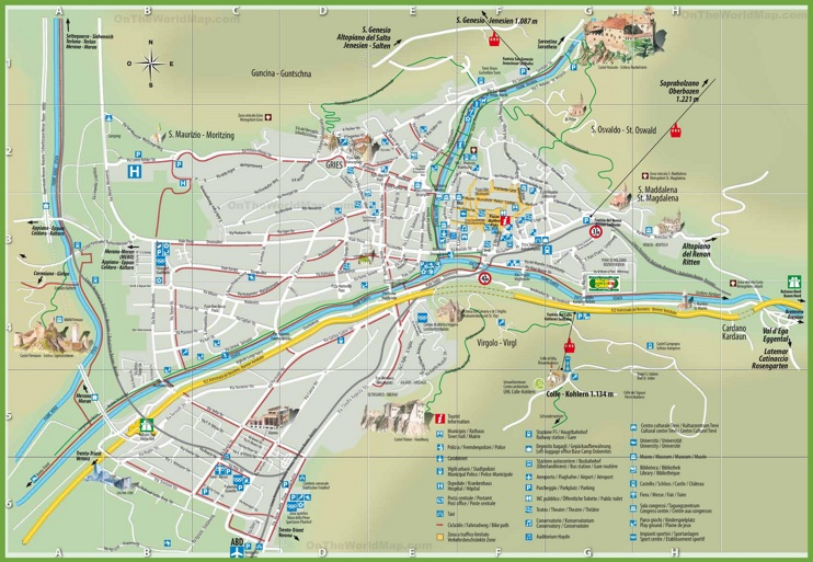 bandiere bolzano italy map - photo#5