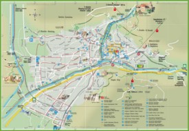 Bolzano tourist attractions map