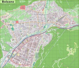 bandiere bolzano italy map - photo#25