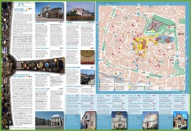 Brescia tourist map