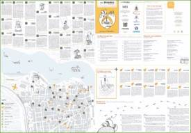 Brindisi tourist attractions map