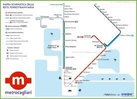 Cagliari Maps Italy Maps of Cagliari