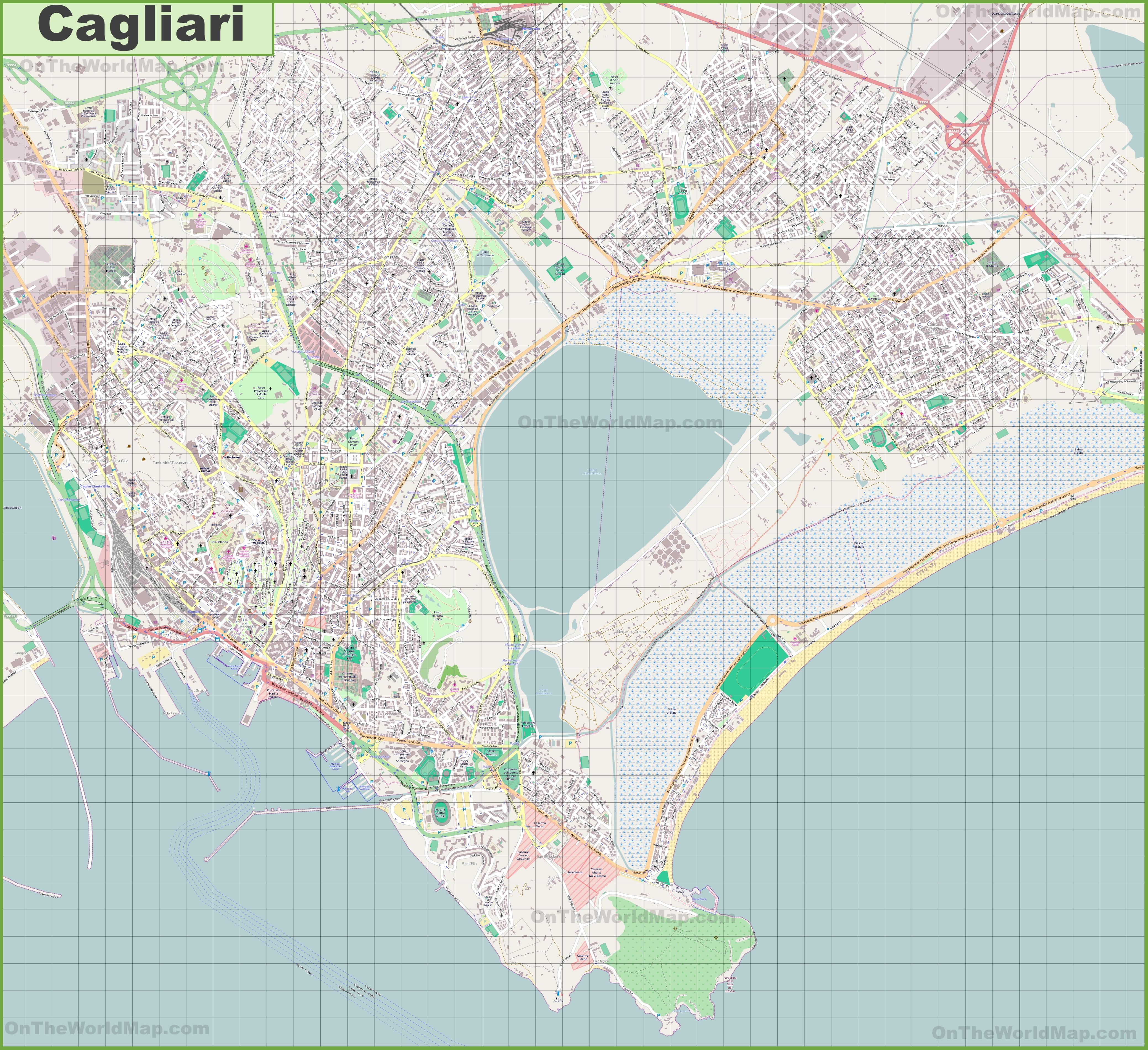 recensioni evasioni cagliari map - photo#3