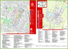 Carpi tourist map