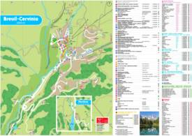 Cervinia Tourist Map