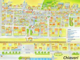 Chiavari Old Town Map