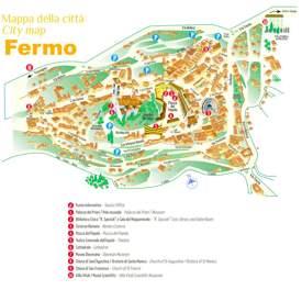 Fermo Tourist Map
