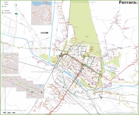 Ferrara transport map
