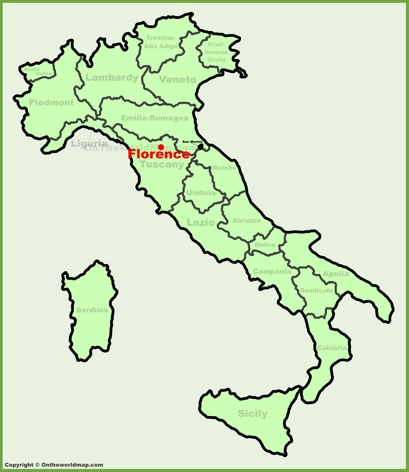 Florence Italy Map Florence Maps | Italy | Maps of Florence (Firenze) Florence Italy Map