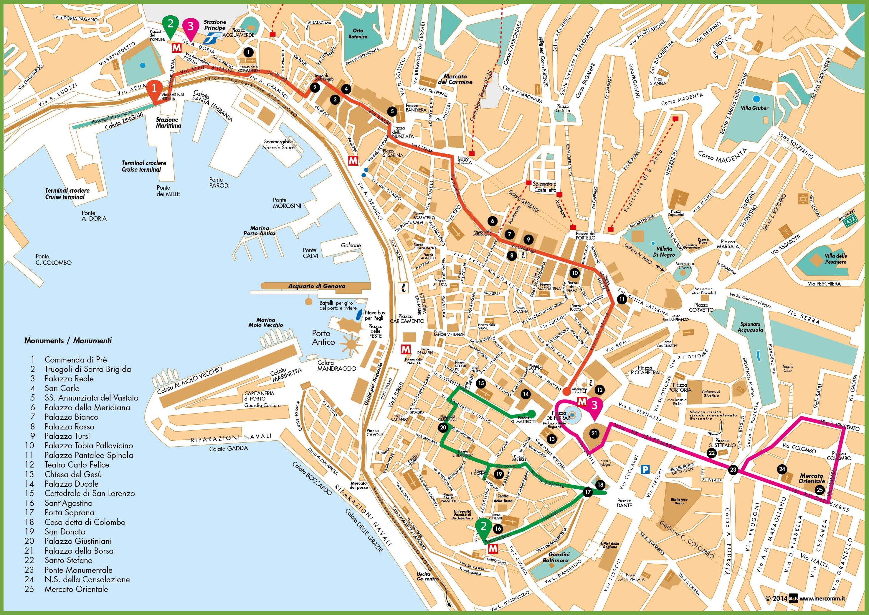 Genoa Italy Map Genoa Maps | Italy | Maps of Genoa (Genova)