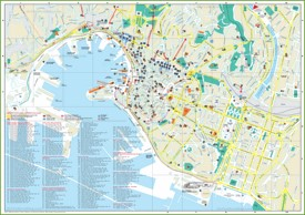 Genoa tourist attractions map
