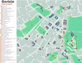 Gorizia Tourist Map