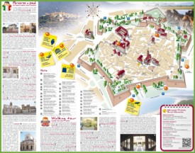 Grosseto tourist map