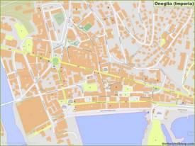 Oneglia Map