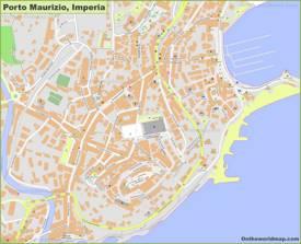 Porto Maurizio Map