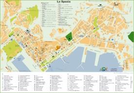 La Spezia hotel map