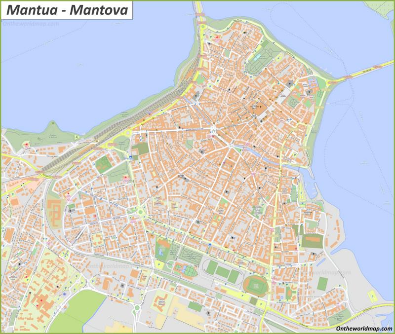 Map of Mantua