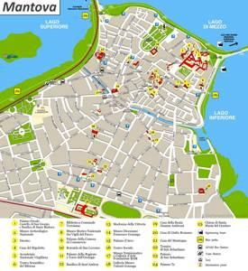 Mantua Tourist Attractions Map
