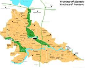 Province of Mantua Map