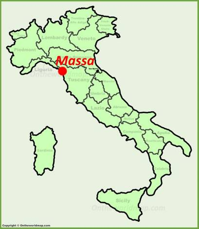 Massa Location Map