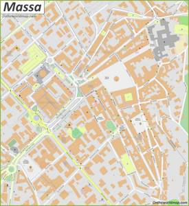 Massa Old Town Map