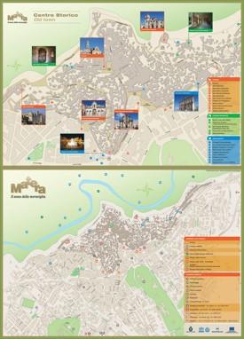Matera tourist map