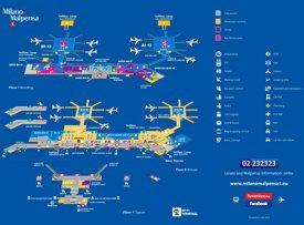 Milan Malpensa Airport Map