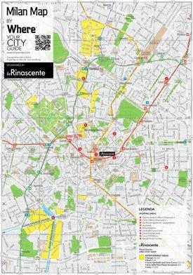 Milan Maps | Italy | Maps of Milan (Milano)
