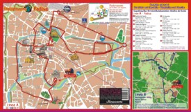 Padova sightseeing map