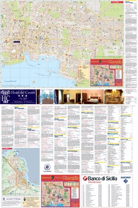 Palermo sightseeing map