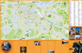 Piacenza sightseeing map