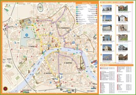 Pisa hotel map