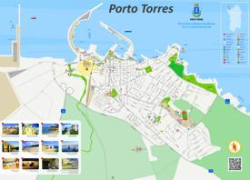 Porto Torres Tourist Attractions Map