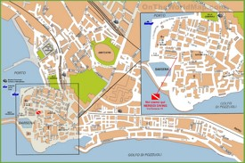 Pozzuoli tourist map