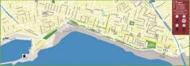 Reggio Calabria tourist map