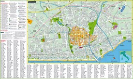 Rimini sightseeing map