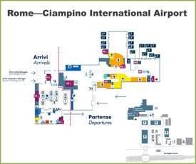 Rome—Ciampino International Airport Map