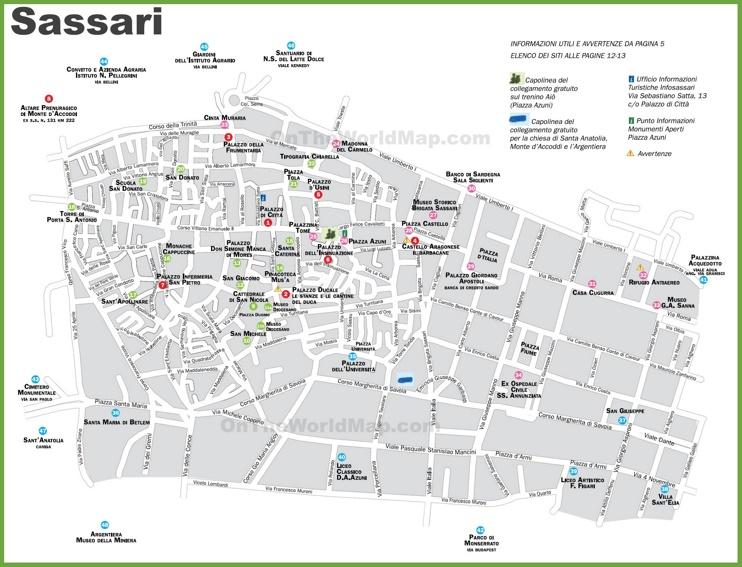 bruno manunza sassari italy map - photo#8
