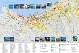 Sorrento hotels map