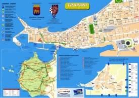 Trapani sightseeing map