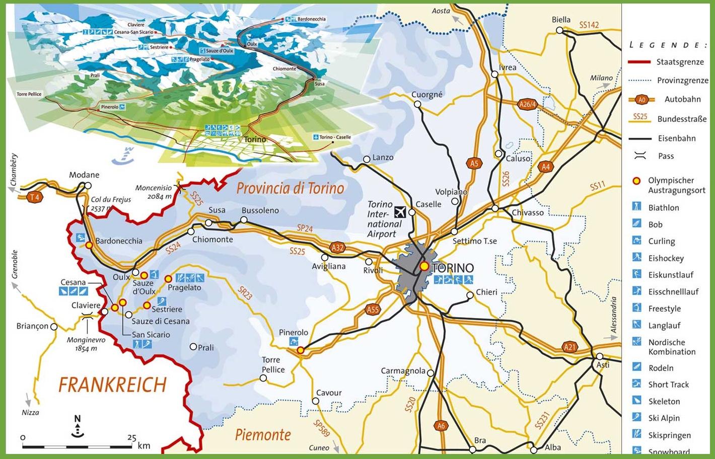 Torino Italy Map Turin Maps   Italy   Maps of Turin (Torino) Torino Italy Map