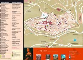 Urbino Tourist Map