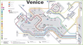 Venice transport map
