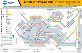 Venice Water Bus ACTV Map