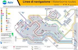 Venice Water Bus ACTV Map